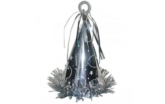 peso decorativo a forma di cono per palloncini ad elio