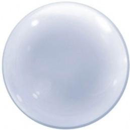palloncino in plastica elasticizzata bubble di Qualatex ideale per il gonfiaggio ad elio e per composizioni di palloncini