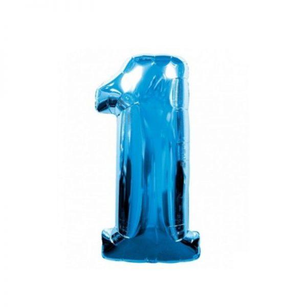 palloncino-numero-1-mylar-1mt-blu