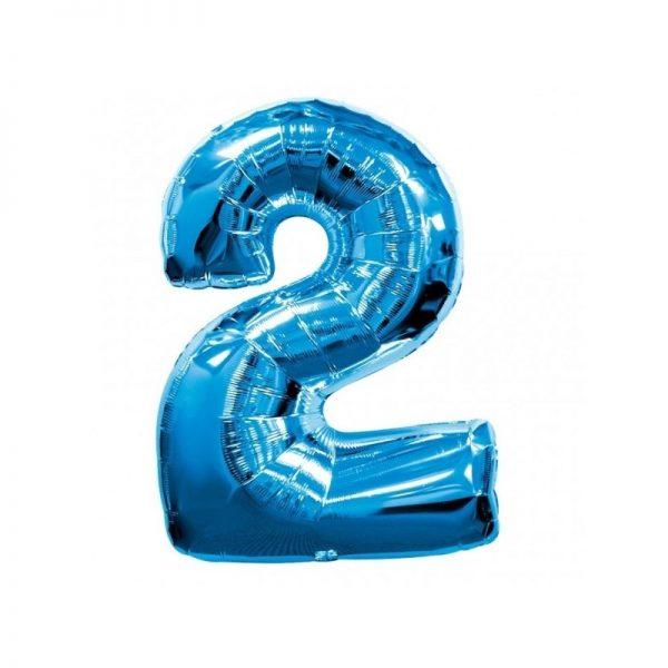 palloncino-numero-2-mylar-1mt-blu