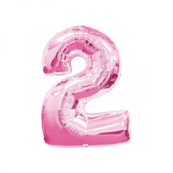 palloncino-numero-2-mylar-1mt-rosa