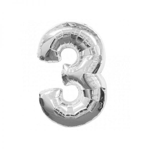 palloncino-numero-3-mylar-1mt-argento