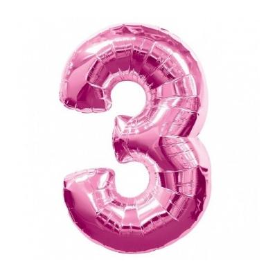 palloncino-numero-3-mylar-1mt-rosa