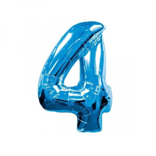 palloncino-numero-4-mylar-1mt-blu