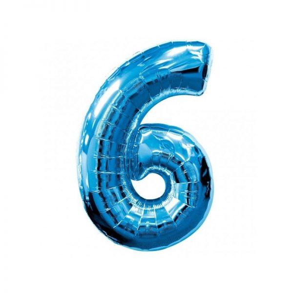 palloncino-numero-6-mylar-1mt-blu