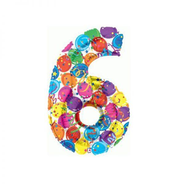 palloncino-numero-6-mylar-1mt-multicolor