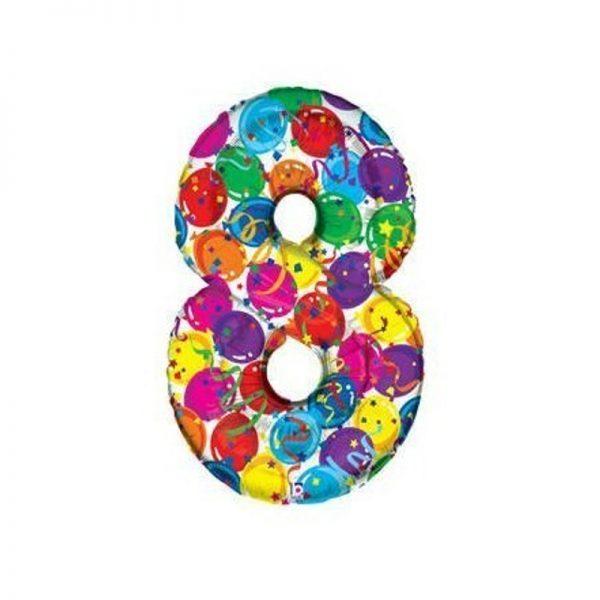 palloncino-numero-8-mylar-1mt-multicolor