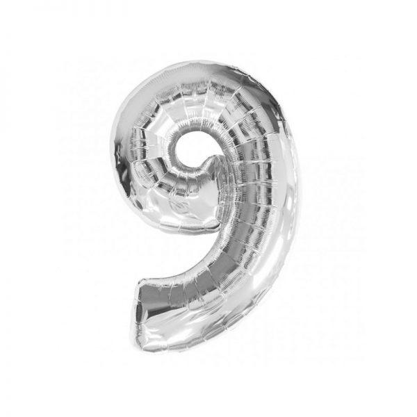 palloncino-numero-9-mylar-1mt-argento