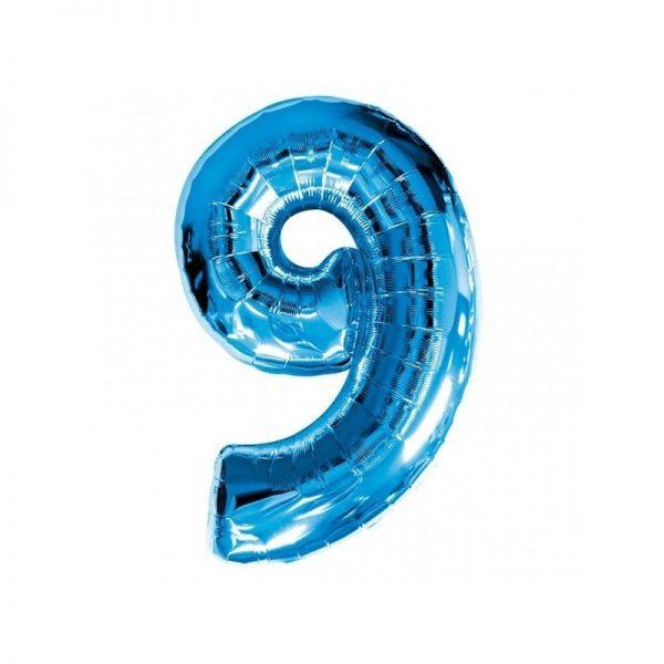 palloncino-numero-9-mylar-1mt-blu