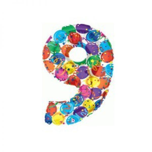 palloncino-numero-9-mylar-1mt-multicolor
