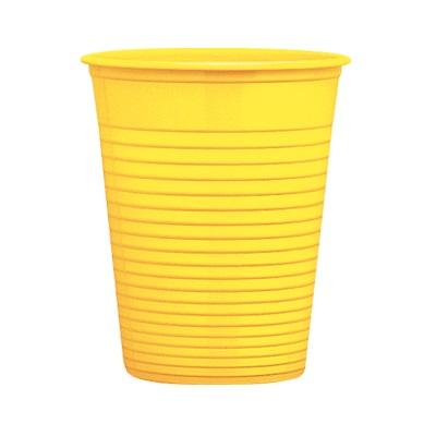 bicchieri-plastica-usa-e-getta-giallo
