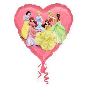 palloncino-principesse-disney-cuore