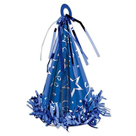 peso-per-palloncini-blu-cono-170