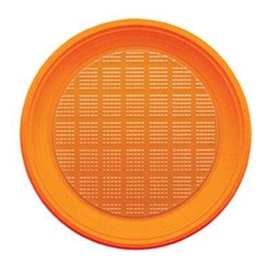 piatti-plastica-usa-e-getta-arancio-diam-21