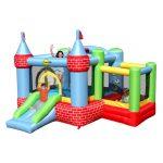 vendita online gonfiabile modello fattoria di happy hop gonfiabili con palline