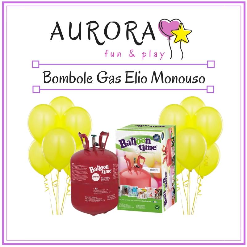 vendita online bombole di gas a elio monouso per gonfiare palloncini in lattice o in mylar foil metallizzato per feste e allestimenti