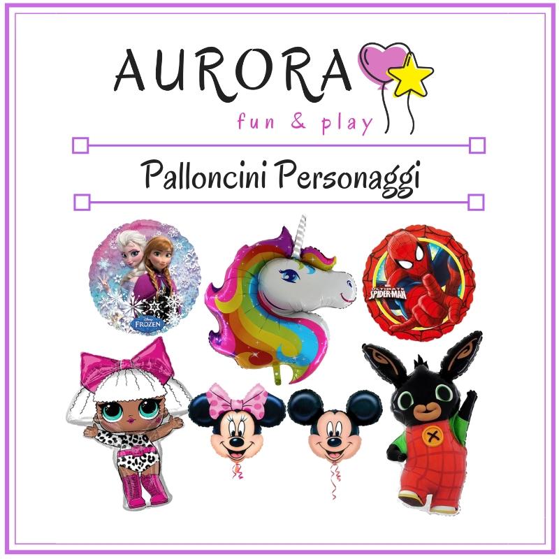 vendita online palloncini in mylar e foil a forma di personaggi dei cartoni animati