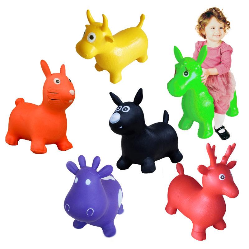 animali cavalcabili gonfiabili per bambini